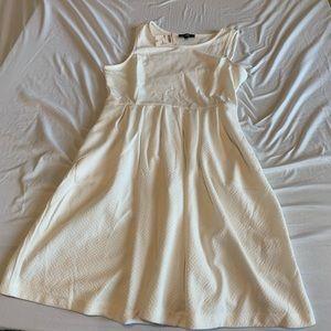 Apt 9 white skater dress